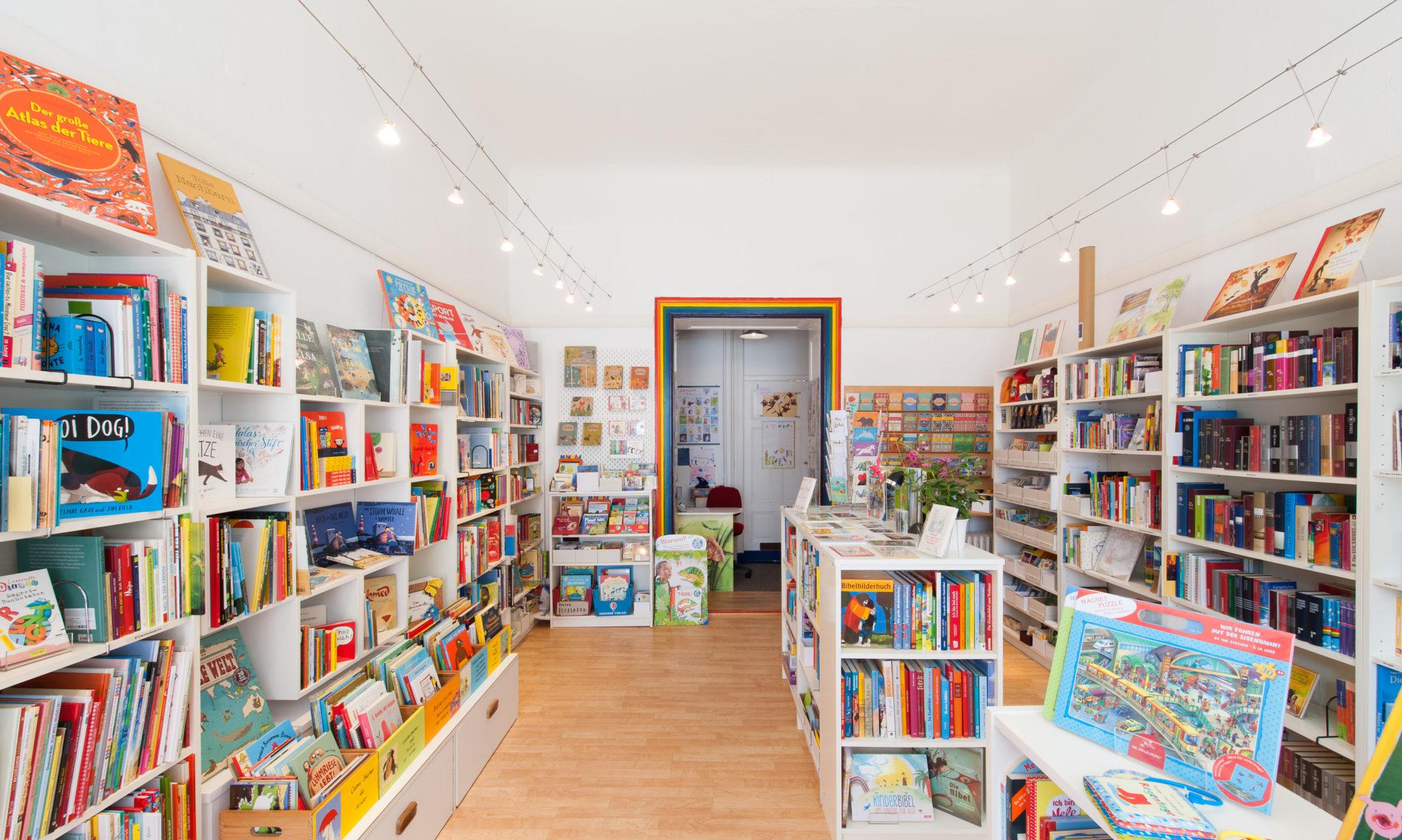Bilderbuchladen Zossener Straße 6 innen